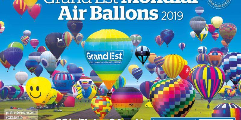 Affiche mondial air ballon 2019