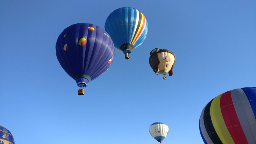 Ballons du BBC au mondial air ballon
